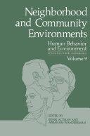 Neighborhood and Community Environments Pdf/ePub eBook