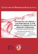 Estudio de los límites a los derechos de autor desde una perspectiva de derecho comparado