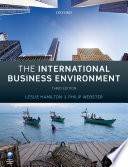 The International Business Environment Book PDF