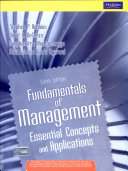 Fundamentals Of Management  Essential Concepts And Applications  6 E