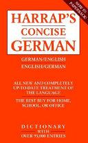 Harrap s Concise English German Dictionary
