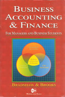Business Accounting and Finance for Managers and Business Students