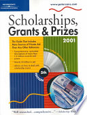 Peterson's Scholarships, Grants & Prizes 2001
