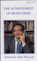 The Achievement of Brian Friel