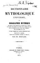 Dictionnaire mythologique universel