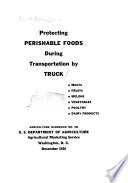 Protecting Perishable Foods During Transportation by Truck