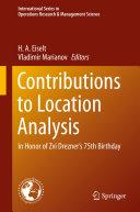 Contributions to Location Analysis [Pdf/ePub] eBook