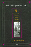Bicentennial history of the black community of Princeton, New Jersey, 1776-1976