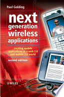 Next Generation Wireless Applications
