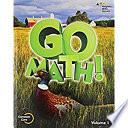 Go Math!, Grade 5