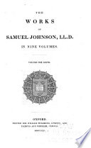 The Works of Samuel Johnson  Journey to the Hebrides  Tales of the imagination  Prayers and sermons