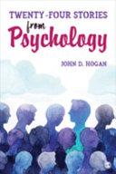 Twenty-four stories from psychology