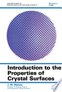 Introduction to the Properties of Crystal Surfaces Book