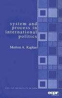 System and Process in International Politics