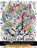 Magical Land Coloring Book for Adult