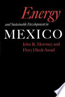 Energy and Sustainable Development in Mexico Book