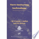 Yarn Texturing Technology