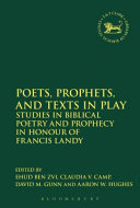 Poets  Prophets  and Texts in Play