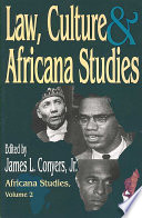 Law  Culture and Africana Studies Book PDF