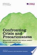 Confronting Crisis and Precariousness