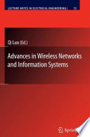 Advances In Wireless Networks And Information Systems Book PDF