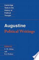 Augustine  Political Writings Book PDF