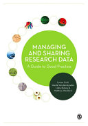 Managing and Sharing Research Data Pdf/ePub eBook