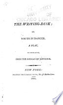 The Writing Desk   or  Youth in Danger