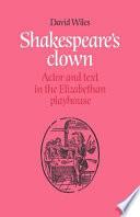Download Shakespeare's Clown Epub