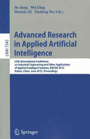 Advanced Research in Applied Artificial Intelligence