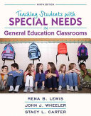 Teaching Students With Special Needs in General Education Classrooms  Enhanced Pearson Etext   Access Card