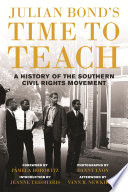 link to Julian Bond's time to teach : a history of the southern civil rights movement in the TCC library catalog