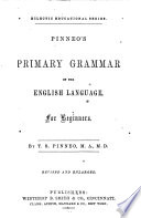 Pinneo S Primary Grammar Of The English Language