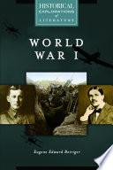 World War I  A Historical Exploration of Literature