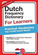 Dutch Frequency Dictionary For Learners
