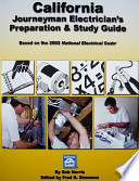 California Journeyman Electrician's Preparation & Study Guide