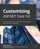 Customizing ASP NET Core 5 0
