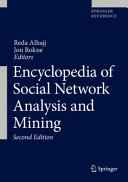 Encyclopedia of Social Network Analysis and Mining Book