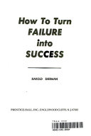 How to Turn Failure Into Success Pdf/ePub eBook
