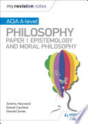 My Revision Notes  AQA A level Philosophy Paper 1 Epistemology and Moral Philosophy