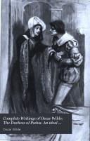 The Duchess Of Padua An Ideal Husband [Pdf/ePub] eBook