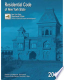 """Residential Code of New York State, 2010 Edition"" by New York (State), International Code Council, New York (State). Division of Code Enforcement and Administration"