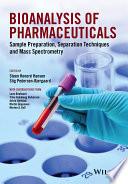 Bioanalysis of Pharmaceuticals