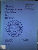 Bicycle Transportation Facilities in Kansas