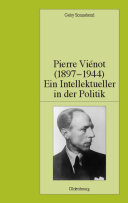 Pierre Viénot (1897-1944): Ein Intellektueller in der Politik