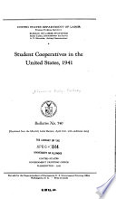 Student Cooperatives in the United States  1941