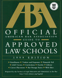 Official American Bar Association Guide To Approved Law Schools