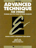 Advanced Technique for Strings Book
