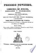 Febrero novisimo ó, Librería de jueces, abogados y escribanos, 3