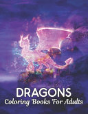 Coloring Books For Adults Dragons
